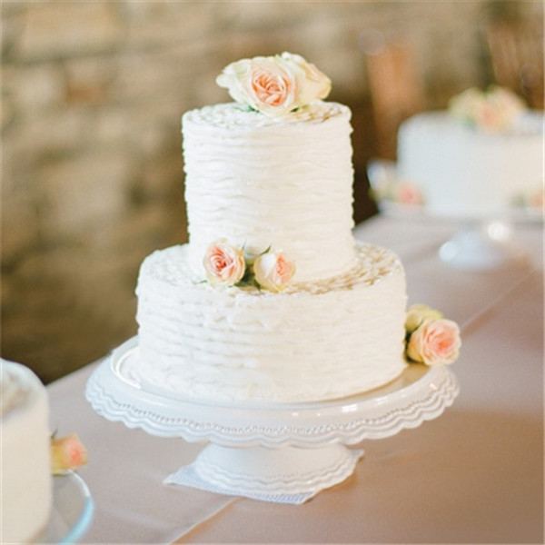 Simple Wedding Cake Designs With Flowers: 40+ Elegant And Simple White Wedding Cakes Ideas