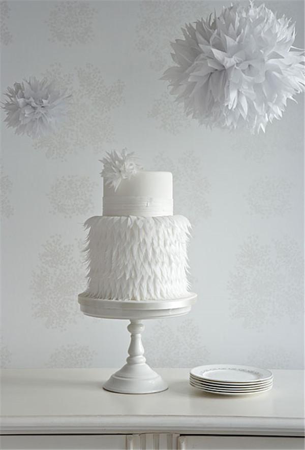 wedding cake photos modern white wedding cake