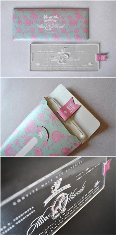 Unique and creative engraved invitations
