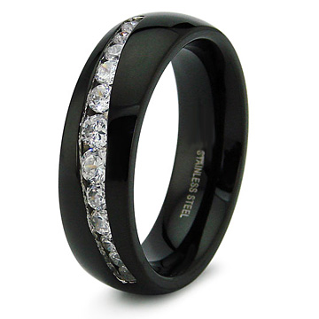 27 Black Mens Wedding Bands Ideas