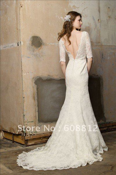 2adfb74fe9b long sleeve lace wedding dress with low back. 1000 images about ...