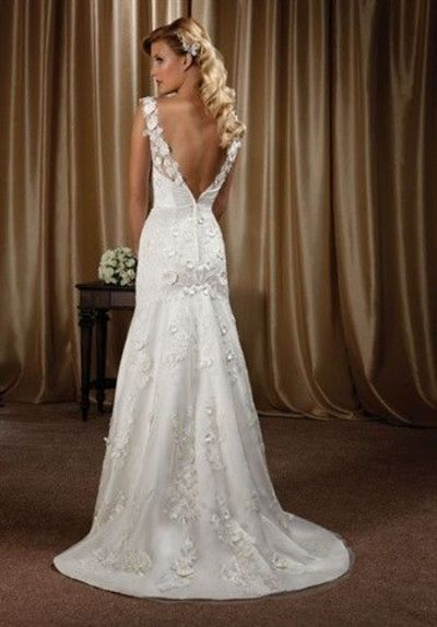 36 low back wedding dresses for Free wedding dresses low income