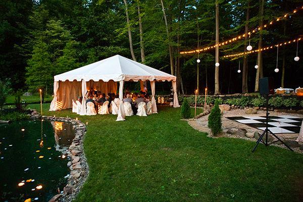 backyard wedding ideas 21
