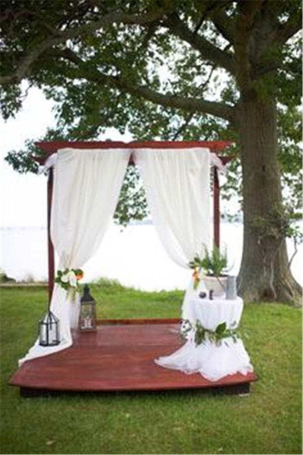 backyard wedding ideas 15