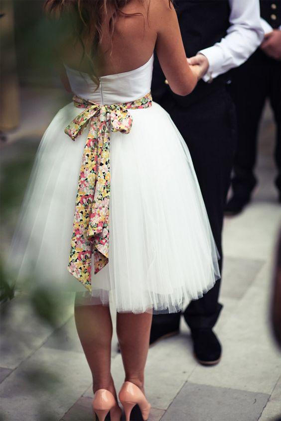 Casual Short Bridal Wedding Dresses