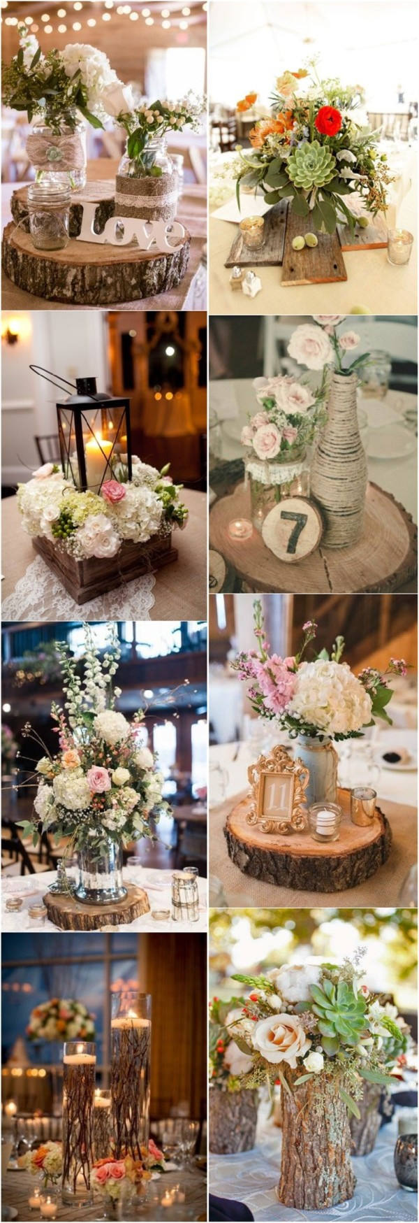 30 rustic wedding theme ideas rustic wedding decorations junglespirit Image collections