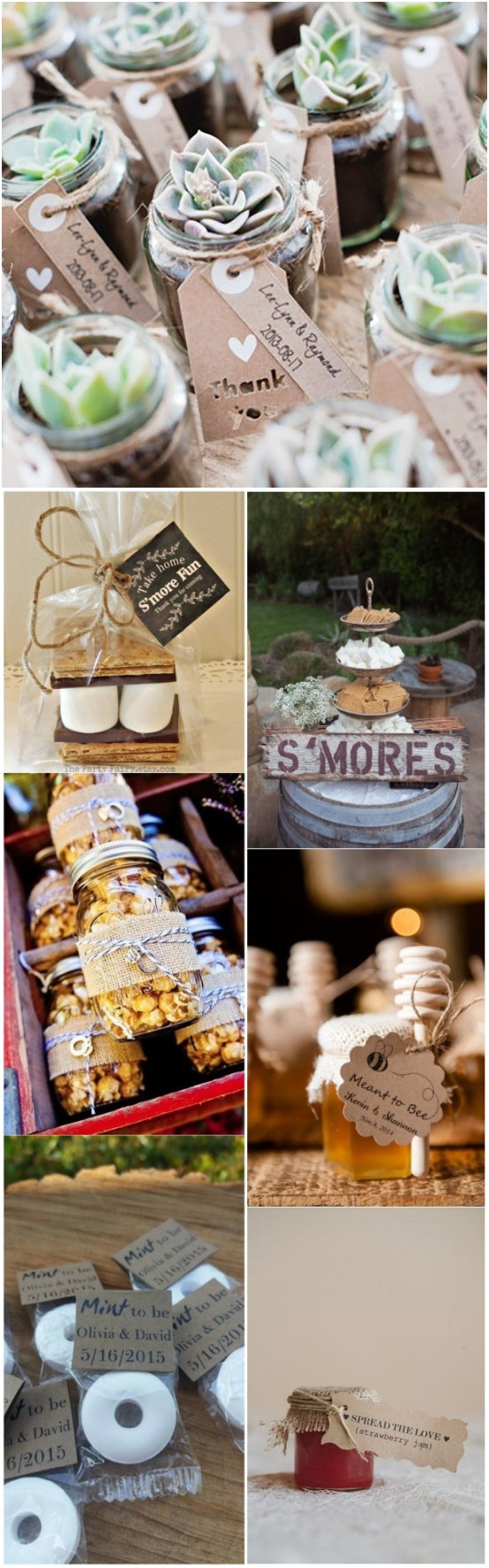 Vintage rustic wedding favor ideas do it yourself