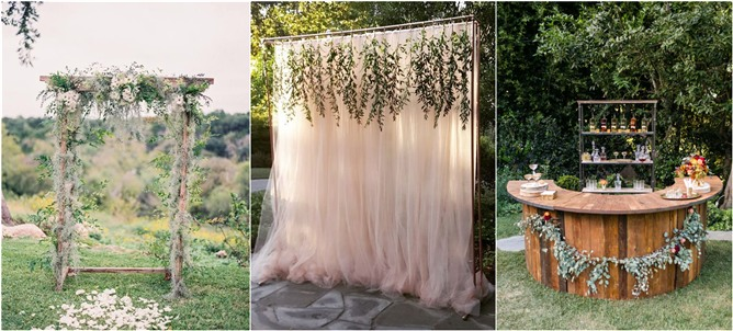 20 genius outdoor wedding ideas junglespirit Image collections