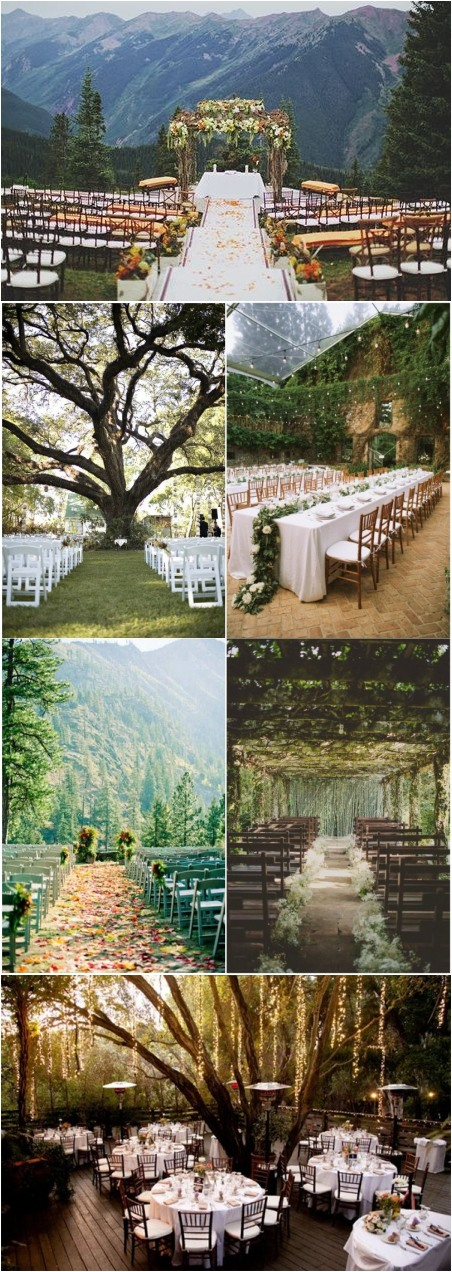 Outdoor Wedding Venue Ideas