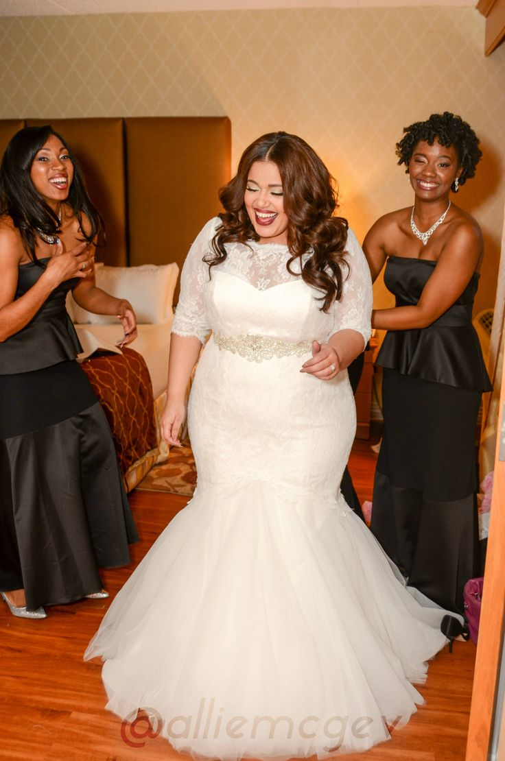 Top 11 plus size wedding dresses you can 39 t resist for Wedding dress big size