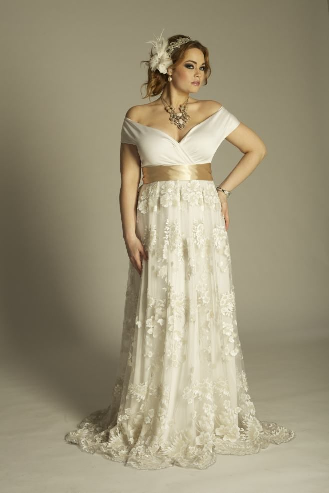 Best wedding dress for plus size women