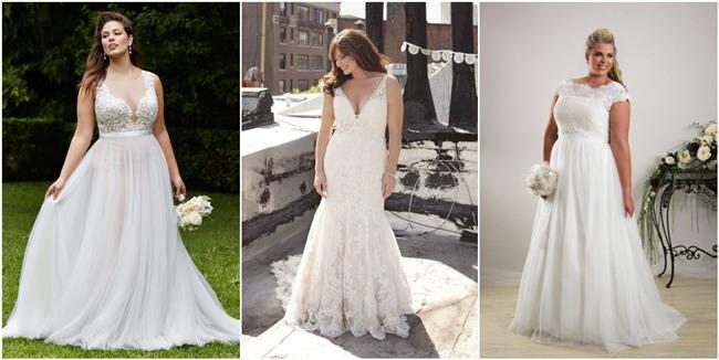 plus size wedding dresses ideas