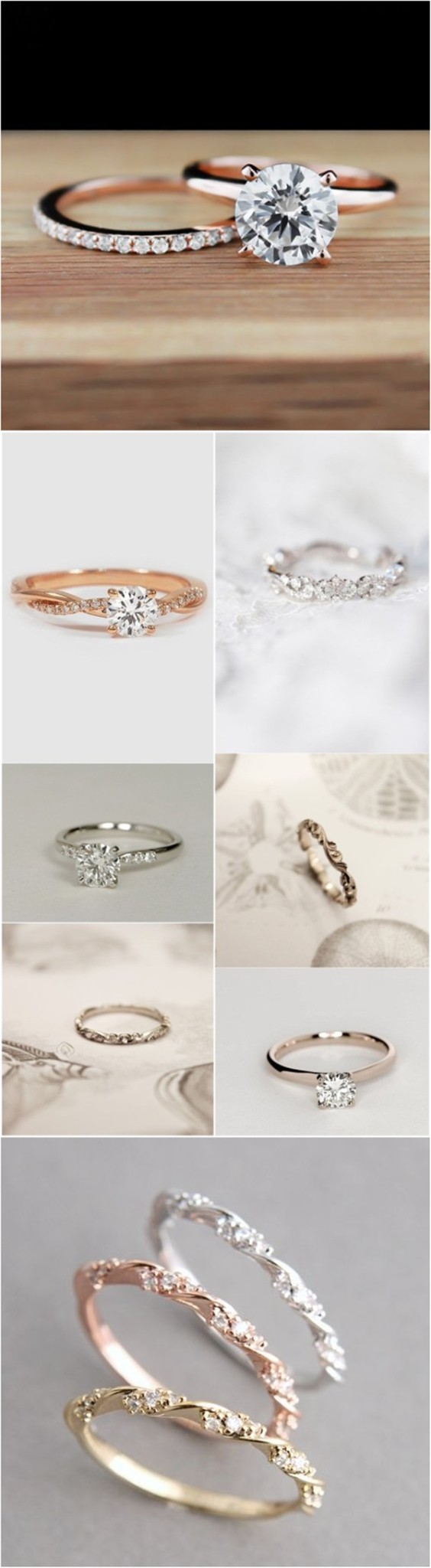 Simple wedding rings ideas for your big day