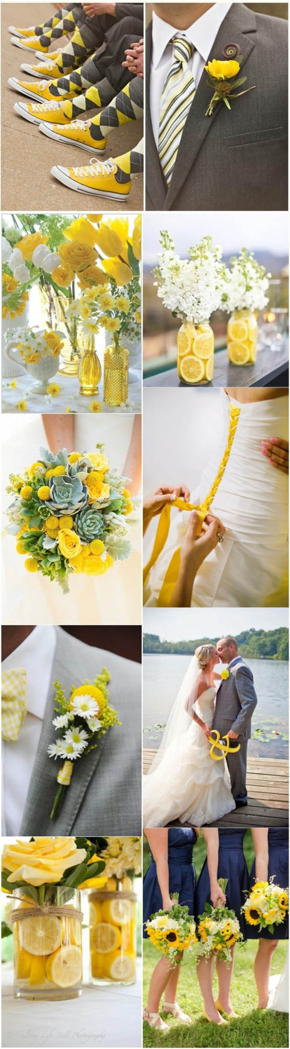 2017 Primrose yellow wedding ideas