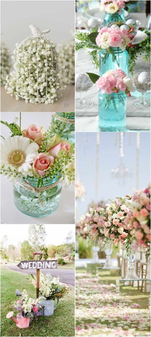 2017 spring wedding decorations