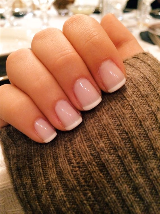 Classy french manicure nail ideas