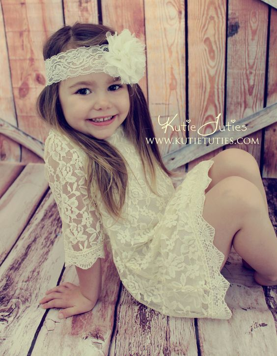 Lace Dress Flower girl dress