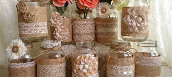 Burlap Wedding Decorations WeddingInclude Wedding Ideas