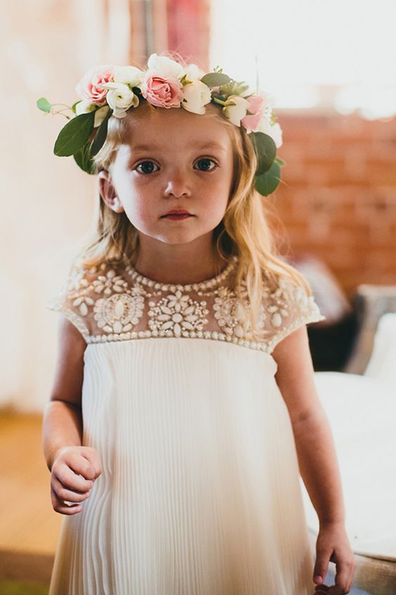 Super cute flower girl