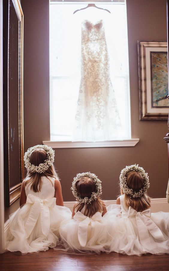 When the little ones dream of that dress!