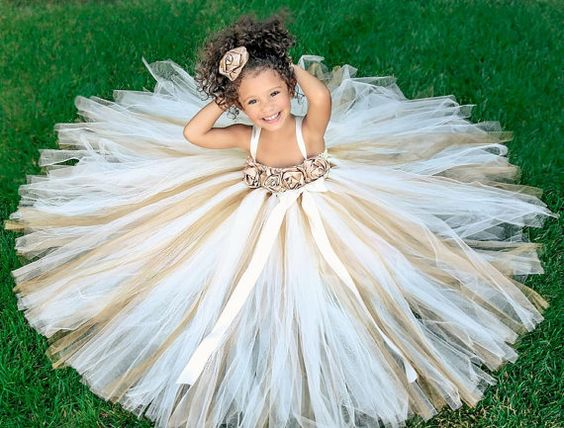 wedding flower girl dress