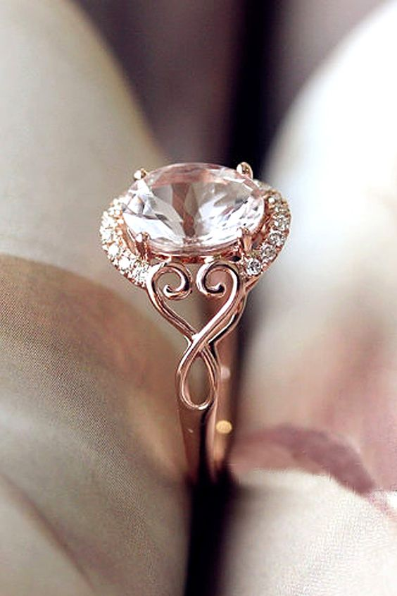 18 Morganite Engagement Rings Were Are Obsessed With
