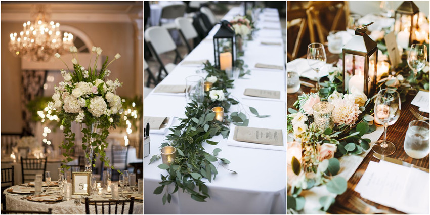 Color of the year 2017 greenery wedding centerpiece ideas color of the year 2017 greenery wedding centerpiece ideas junglespirit Images