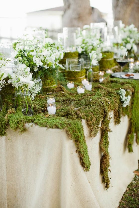 Closer to Nature with Rustic Greenery Decorations