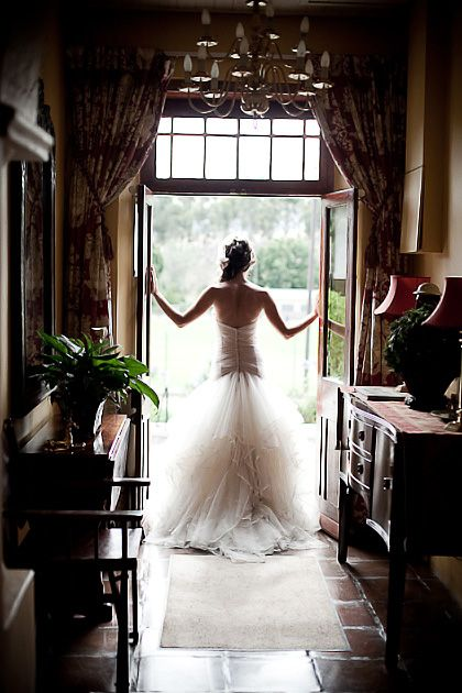 Every Bride should have a picture taken like this