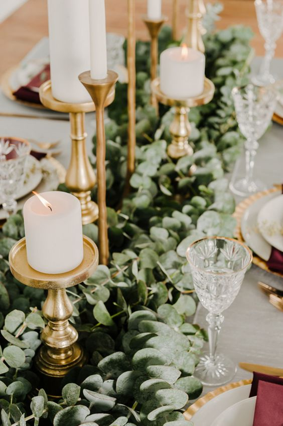 Modern Greenery Wedding Ideas