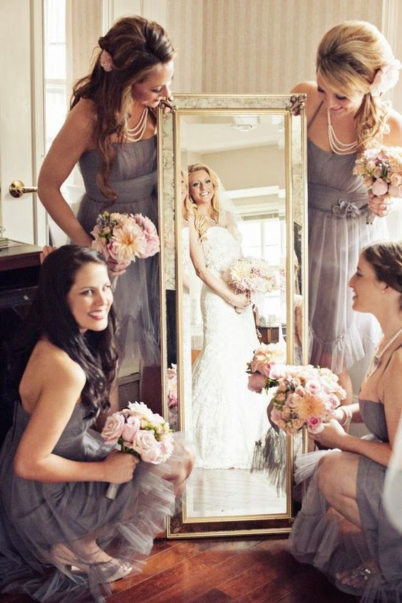 Pre-wedding photo ideas with your sisiters