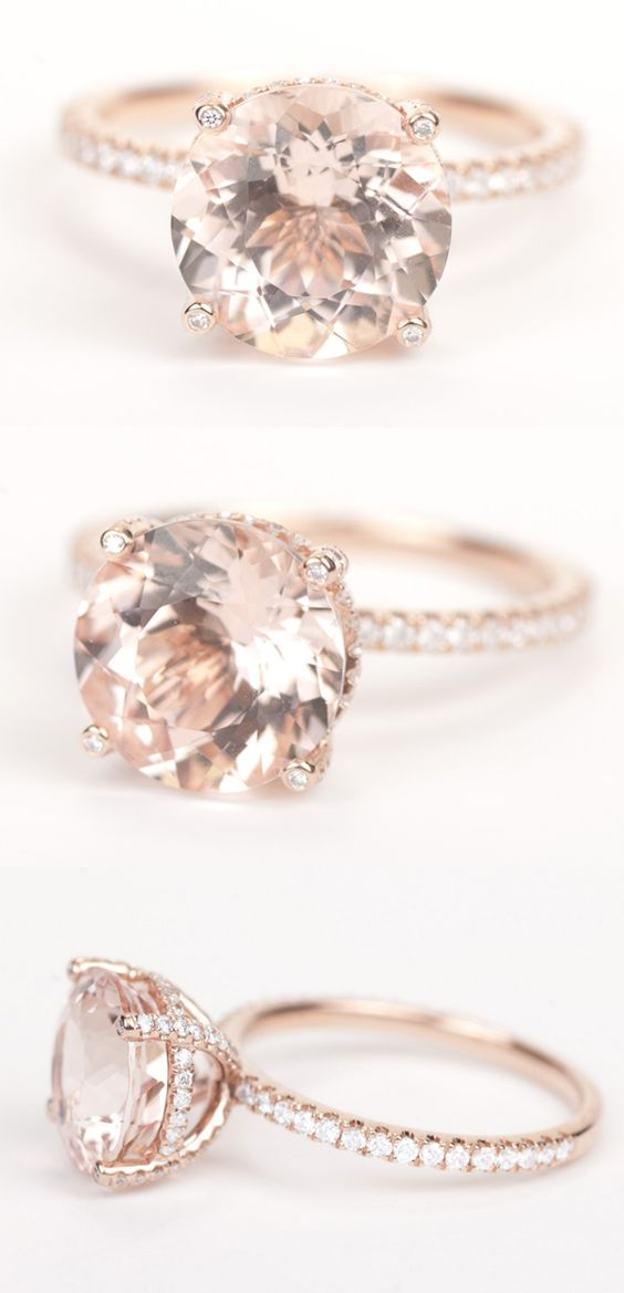 Stunning Rose Gold Wedding Engagement Rings that Melt Your Heart