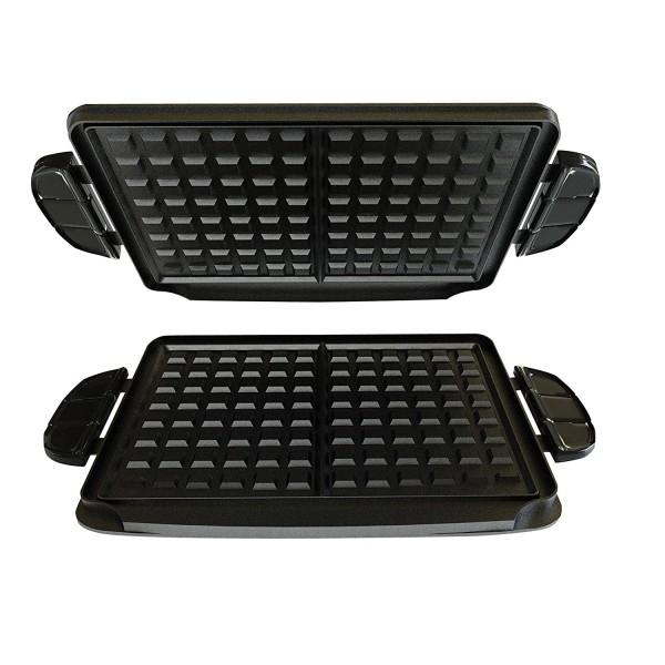 84-Square Inch Waffle Plate Accessory Set