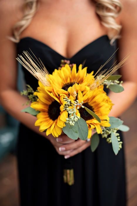 A Summer Bouquet of sunflowers Photo Source Fab You Bliss