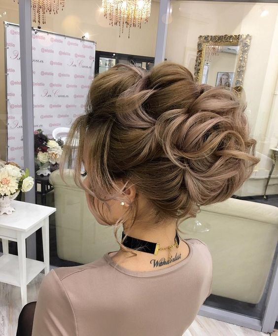 Breathtaking Updos hairstyle for Your Big Day