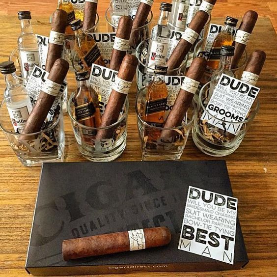 Can you say best groomsman gift ever