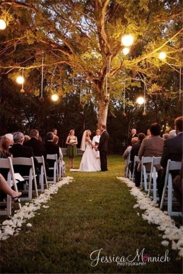 Celtic Outdoor Night Wedding ideas