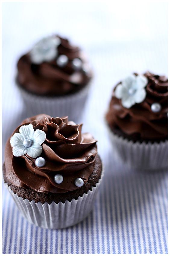 Chocolate cupcakes by Call Me Cupcake