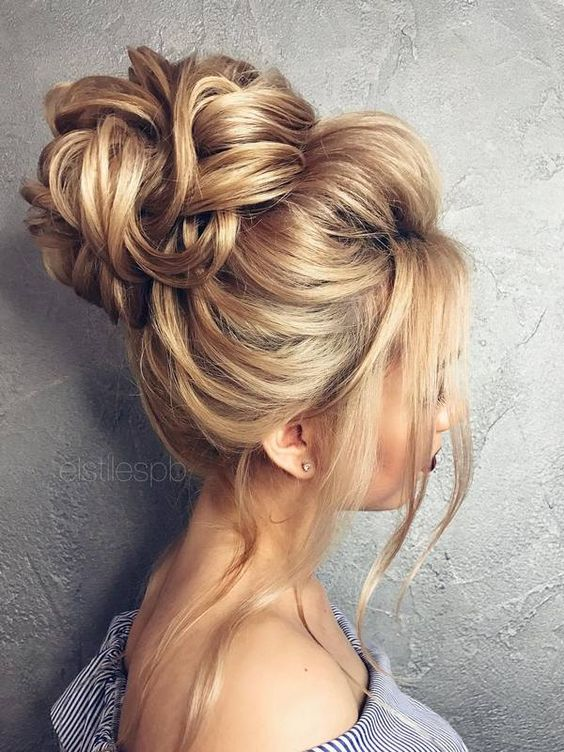 Good 8 Chongos Updo For Long Wedding Hairstyles