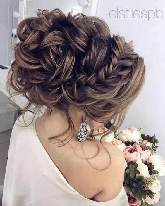 Featured updo Hairstyle from Elstile