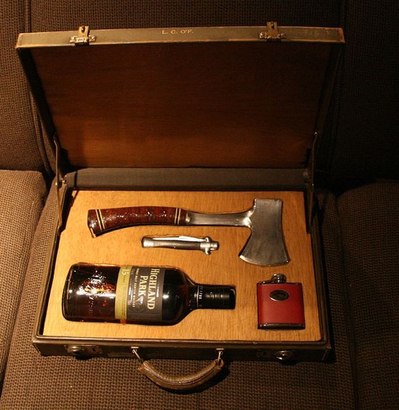 Gentlemens Survival kit for Groomsmen