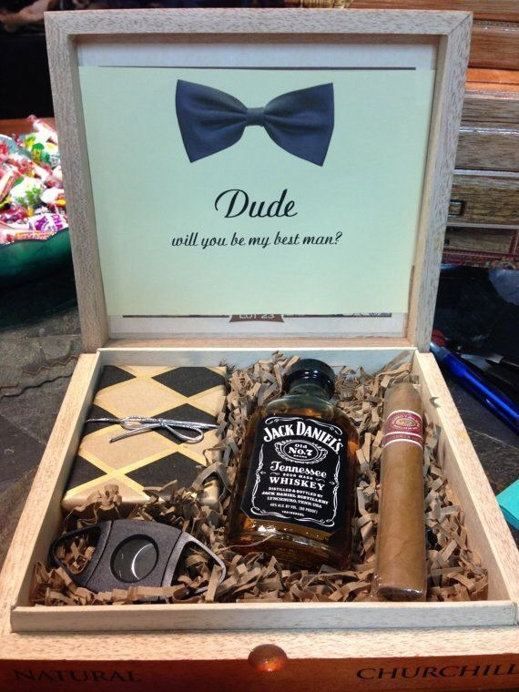 Groomsmen gift boxes What a fabulous gift for a best man or groomsman