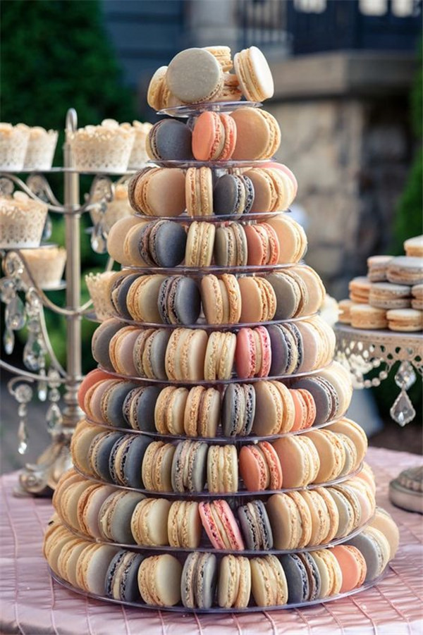 Macaroon Wedding Cake Alternatives Guests Will Actually Want to Eat