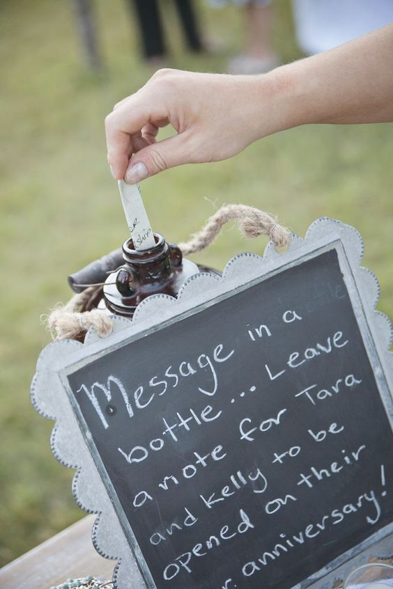 Note-Worthy Engagement Party Inspiration