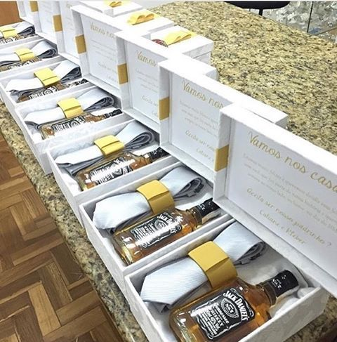 Nothing says thank you for been part of our special day like a beautifully packaged gift Groomsmen gift boxes