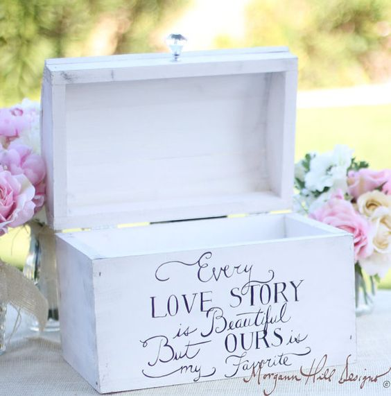 20 Creative Wedding Card Box Ideas Many Brides are Dying for – Wedding Card Keepsake Box