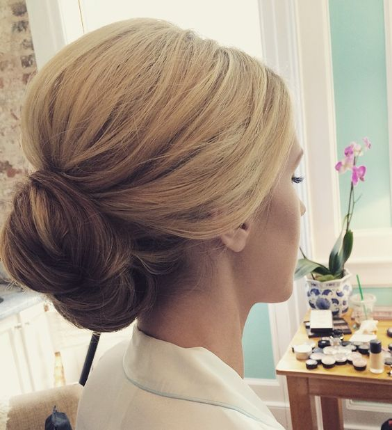 Simple and Elegant Bridal Updo Hairstyles