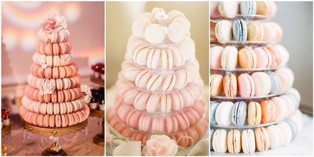 Sweet Macaroon Wedding Cake Ideas to Dazzle Your Guests