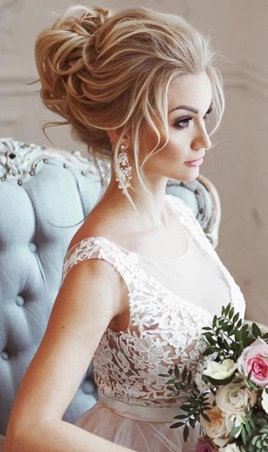 Wedding Updo Hairstyle Inspiration
