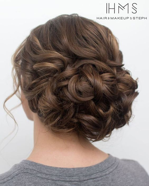 classic wedding updo Ideas